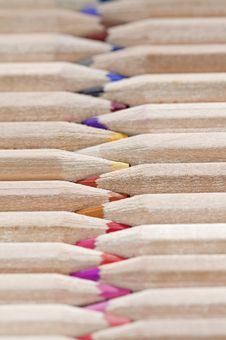Free Color Pencils Royalty Free Stock Image - 18387426