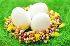 Free Easter Eggs Stock Image - 18387761