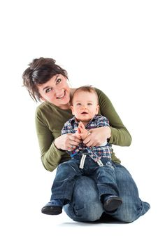 Free Mother And Child Stock Photography - 18388442