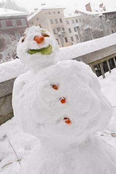 Free Snowman Royalty Free Stock Images - 18389029