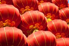 Free Red Lanterns Royalty Free Stock Image - 18389766