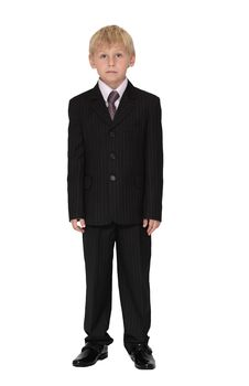 Free Boy In Suit Stock Images - 18389854
