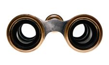 Free Look Into The Eyepieces Of Binoculars Royalty Free Stock Photography - 18389997