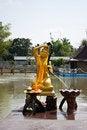 Free Girl Buddha Statue. Royalty Free Stock Photography - 18392417