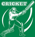 Free Cricket Sports Player Batsman Stock Photo - 18392990