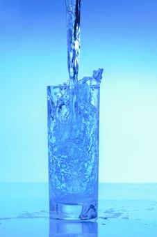 Free Blue Water Royalty Free Stock Image - 18390096