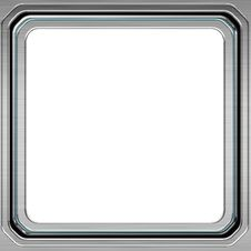 Free Silver Frame Stock Image - 18390131