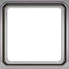 Free Silver Frame Stock Photography - 18390152