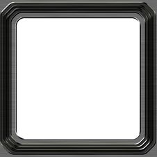Free Silver Frame Stock Photography - 18390162