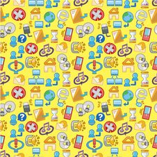 Free Seamless Web Pattern Royalty Free Stock Image - 18390506