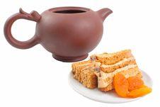 Free Sweet Honey-cake Royalty Free Stock Image - 18390556