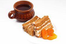 Free Sweet Honey-cake Royalty Free Stock Image - 18390586