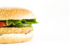 Free Chicken Burger Stock Photography - 18390922
