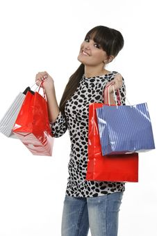 Free Shopping Time Stock Photography - 18390972