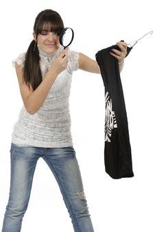 Free Shopaholic Woman Stock Photo - 18390990