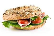 Free Freshly Made Sandwich Royalty Free Stock Image - 18391016
