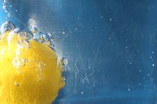 Free Zesty Lemon Royalty Free Stock Photo - 18391025