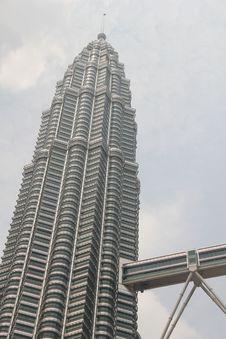 Free Petronas KLCC South Tower Stock Photos - 18391093