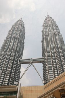 Free Petronas KLCC Twin Towers, Kuala Royalty Free Stock Images - 18391099
