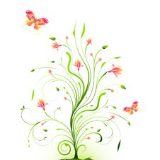 Free Floral Background Stock Photo - 18391250