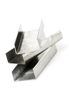 Free Metal Staples Stock Photo - 18391270