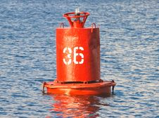 Free Buoy On The Water. Royalty Free Stock Image - 18391426