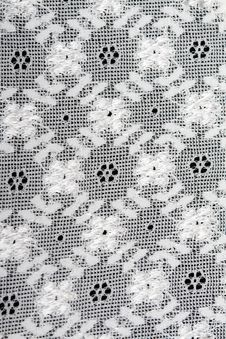 Free Background Of White Lace Royalty Free Stock Photos - 18391508