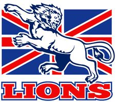 Free Lion Great Britain Union Jack Flag Stock Photo - 18391870