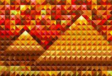 Free Gold Piramides Stock Photo - 18391940