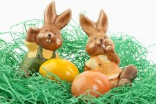 Free Easter Bunny Royalty Free Stock Images - 18391969