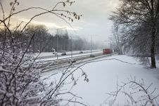 Free Winter Traffic Stock Image - 18392361