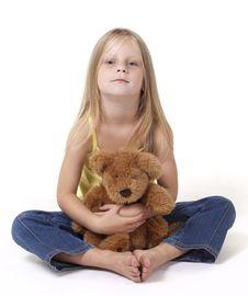 Free Teddy Bear Hug Royalty Free Stock Image - 18392386