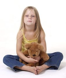 Free Teddy Bear Hug Royalty Free Stock Images - 18392429