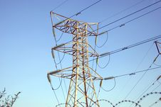 Free Electrical Power Mast Stock Photos - 18392453