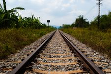 Free Railway To Success. Stock Images - 18392514
