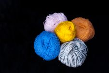Sceins Of Wool Royalty Free Stock Images
