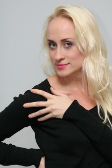 Free Woman Blond Stock Photography - 18395182