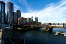 Free Boston Financial District Royalty Free Stock Images - 18395219