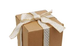 Free Box Gift Symbol Royalty Free Stock Image - 18395426