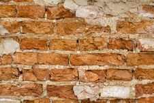 Free Aged Grunge Bricks Wall Background Stock Photo - 18395680