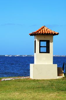 Free The Lake Sentry Box Stock Photos - 18396023