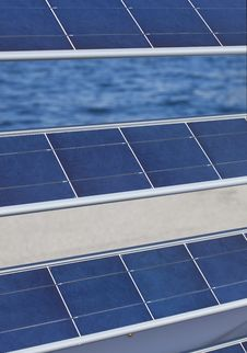 Free Photovoltaic Panels Royalty Free Stock Photo - 18396725