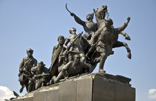 Free Monument Of Chapaev Stock Photos - 18397553