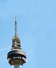 Free Spanish Tv Tower Royalty Free Stock Photo - 18397685