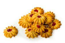 Free Cherry Cookies Pastries. Royalty Free Stock Photos - 18397768