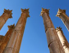 Free Ruins Of Greco-Roman City Gerasa. Stock Photography - 18398162