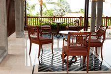 Free Tropical Resort Furniture Royalty Free Stock Images - 18398399