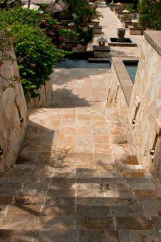 Granite Stairway Stock Image