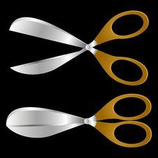 Free Scissors. Stock Image - 18398791