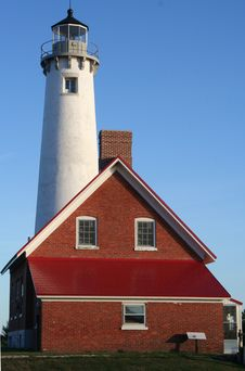 Free Tawas Lighthouse Stock Photo - 18398880
